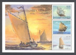 Antigua - 1998 Ships Kleinbogen (2) MNH__(THB-5521) - Antigua Und Barbuda (1981-...)