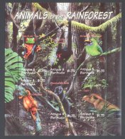 Antigua - 2000 Fauna Of The Rainforest Kleinbogen (1) MNH__(THB-1561) - Antigua E Barbuda (1981-...)