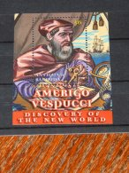 Antigua - 2002 Amerigo Vespucci Block MNH__(TH-18230) - Antigua Et Barbuda (1981-...)