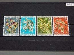 British Honduras - 1970 Orchids MNH__(TH-18438) - British Honduras (...-1970)
