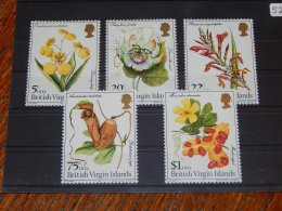 British Virgin Islands - 1981 Flowers MNH__(TH-525) - British Virgin Islands