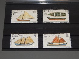 British Virgin Islands - 1984 Boats MNH__(TH-18445) - British Virgin Islands