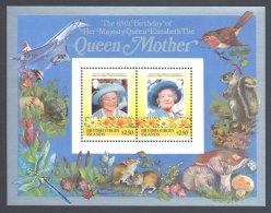 British Virgin Islands - 1985 Queen Mother Block (3) MNH__(FIL-10189) - British Virgin Islands