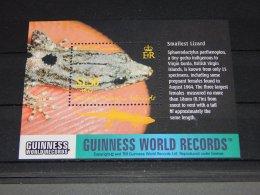 British Virgin Islands - 2002 Record Performance Of Reptiles Block MNH__(TH-18195) - British Virgin Islands