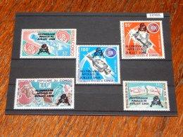 Congo (Brazzaville) - 1979 Apollo 11 Overprints MNH__(TH-18988) - Mint/hinged