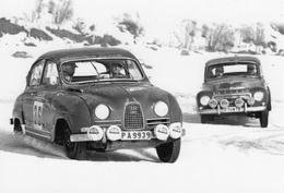 Saab 96 Sport  -  Volvo PV544  -  Snow Rally  -  CPM - Rallyes