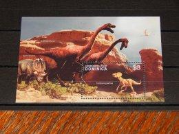 Dominica - 2005 Prehistoric Animals Block (1) MNH__(TH-18023) - Dominica (1978-...)