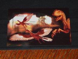 Dominica - 2005 Prehistoric Animals Block (2) MNH__(TH-17775) - Dominica (1978-...)