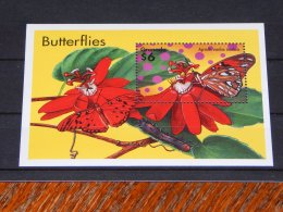 Grenada - 2000 Butterflies Block (2) MNH__(TH-18101) - Grenada (1974-...)