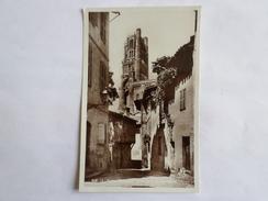 """Albi  Clocher , Cathédrale Ste-Cécile Et Rue Des Pretres """"carte Photo"""" - Albi"""