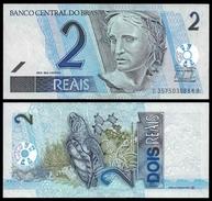 Brazil 2 REAIS Sign. A.Tombini ND 2010 P 249h UNC OFFER ! (Brazil,Brasilien,Brésil, Brasil) - Bhoutan