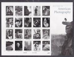 United States 2002 Masterof American Photography Souvenir Sheet MNH ** - Vereinigte Staaten