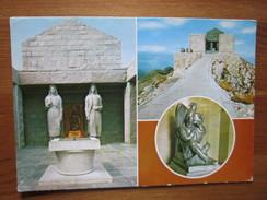 Lovcen - Cetinje. Mauzolej Petra II Petrovica Njegosa