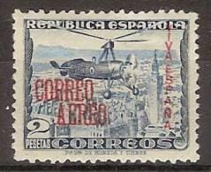 Patrioticos San Sebastian 61 * Correo Aereo. Charnela - Nationalistische Ausgaben