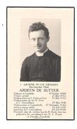 Doodsprentje Pastoor-Priester : Lembeke-Gent-St.-Amandsberg-Lotenhulle. - Religion & Esotérisme