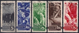 Russia 1935, Michel Nr 494-98, Used - 1923-1991 USSR