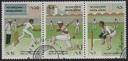 A5758 BANGLADESH 1988, SG 310-2  Asia Cricket Cup, Used - Guyana (1966-...)