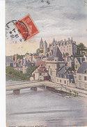 37 Indre Et Loire, Château De Loches Illustrateur Gaston Jourda De Vaux, Louis XI - Loches