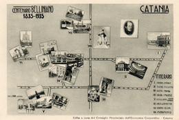73Bv   Italie Catania Centenario Belliniano 1835 1935 (pas Courante) - Catania