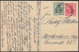 Germany Deutsches Reich 8. 2. 1920. / BAHNPOST / Nordhausen - Wernigerode ZUG 5 / Brocken, Brockenbahn Postcard - Eisenbahnen