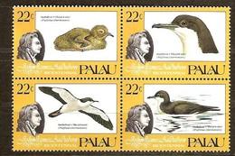 Palau 1985 Yvertn° 61-64 *** MNH Cote 5 Euro Faune Oiseaux Vogels Birds - Palau
