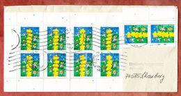Postzustellungsauftrag, MeF Europa, Briefzentrum 97 Nach Schrozberg 2000 (35713) - Covers & Documents