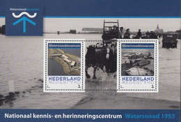 Nederland - Postset Watersnoodmuseum - Watersnood 1953 Zeeland - Nieuwerkerk/Rilland-Bath/Kruinigen - MNH - Periode 2013-... (Willem-Alexander)