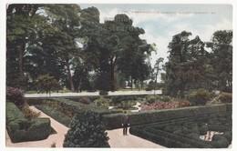 MT VERNON MANSION VA - Washinton's Flower Garden - C1910s Postcard Virginia Historic - History