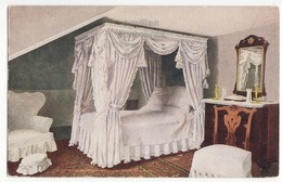 MT VERNON MANSION VA - Martha Washinton's Bedroom- C1910s Postcard-Historic Site - History