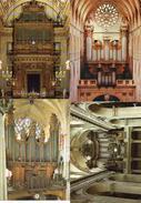 Grandes Orgues - Lot De 4, Sainte-madeleine, Saint-severin, Saint-sulpice, Paris, Auch - Musica E Musicisti