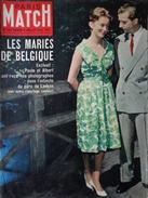 PARIS MATCH N° 534 4 Juillet 1959 La Mort De Boris Vian; Paola Et Albert; La Panhard PL17; Le Fou De Louisiane - General Issues