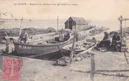 BERRE BARQUES DE PECHEURS SUR LES BORDS DE L'ETANG (dil229) - Other Municipalities