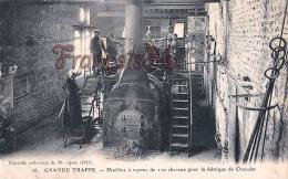 (61) Grande Trappe - Machine à Vapeur De 100 Chevaux Pour La Fabrique De Chocolat - 2 SCANS - France