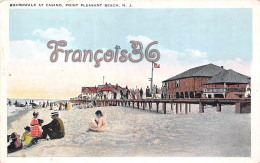 Boardwalk At Casino - Point Pleasant Beach N. J. - 2 SCANS - Etats-Unis