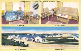 Ocean Manor - St Augustine Beach Florida - 2 SCANS - St Augustine