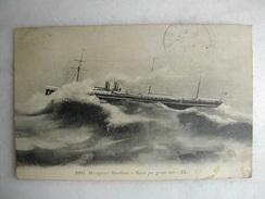 BATEAUX - Messageries Maritimes - Natal Par Grosse Mer - Commerce