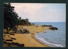 BURUNDI  -  Plage Au Centre Touristique De Resha  Used Postcard As Scans - Burundi