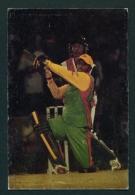 GUYANA -  The Million Dollar Shot  (Cricket)  Used Postcard As Scans - Postcards