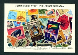 GUYANA -  50th Anniversary Of Independence  Used Postcard As Scans - Postcards