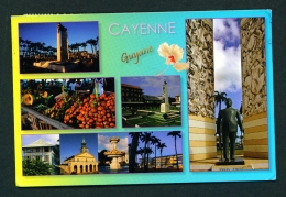 FRENCH GUIANA -  Cayenne  Multi View  Used Postcard As Scans - Cayenne