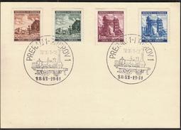 Boehmen Und Maehren Prerau Prerov 1941 / Trains / Railway / Locomotive - Trenes