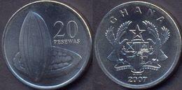 Ghana 20 Pesewas 2007 UNC - Ghana