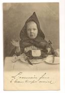 S5950 - Jeune Garçon à Table - Humorvolle Karten