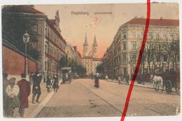 PostCard - 1910 - Magdeburg - Wilhelmstraße - Magdeburg