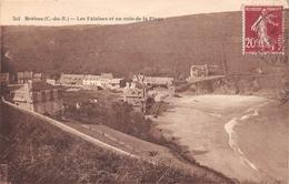 BREHEC - Les Falaises Et Un Coin De La Plage - Non Classés