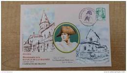 Illustration De Roland Irolla: Bicentenaire De La Bataille De La Chaussée-sur-Marne Et Napoléon - Postmark Collection (Covers)