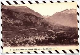 X27 BARCELONNETTE VUE GENERALE 2 SCANS - Barcelonnette