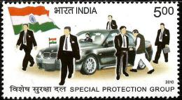 India - 2010 - Special Protection Group - Mint Stamp - Ongebruikt