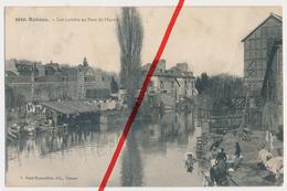 PostCard - 1910 - Rennes - Les Lavoirs Au Pont St-Martin - Feldpost - Rennes