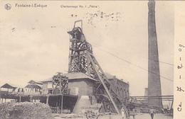 """Fontaine L'eveque Charbonnage N°1 """"Petria""""""""circulé En 1909 - Fontaine-l'Evêque"""
